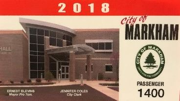City of Markham Sticker 2018