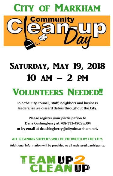 Community Clean Up Day Flyer