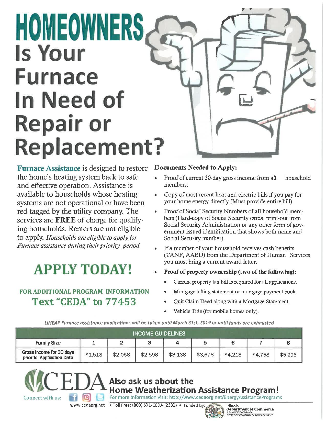 Furnace Flyer-January 2019