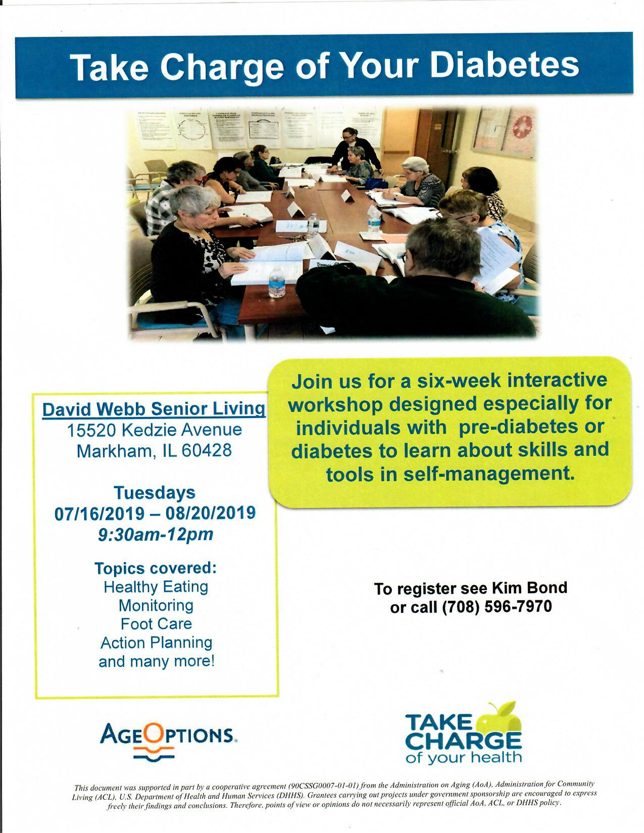 Diabetes Workshop Flyer