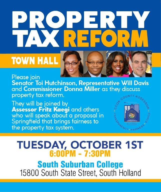Property Tax Town Hall Mtg