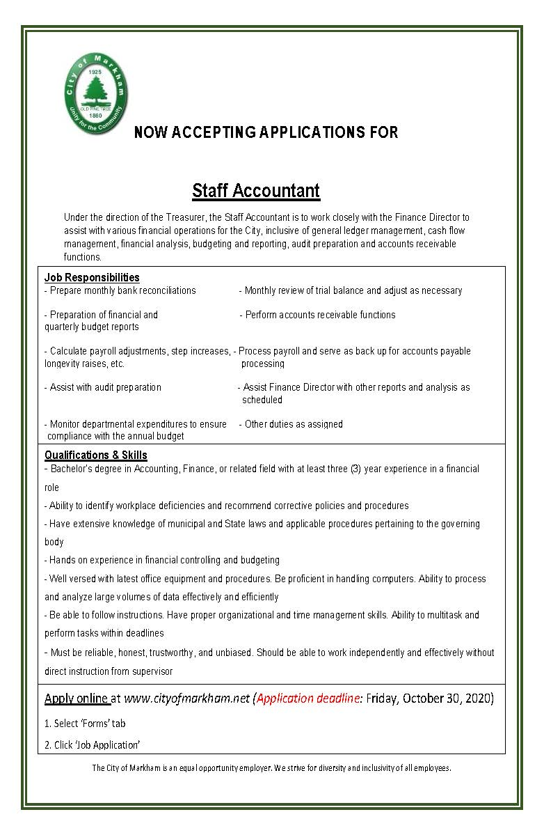 Staff Accountant 2020_ posting